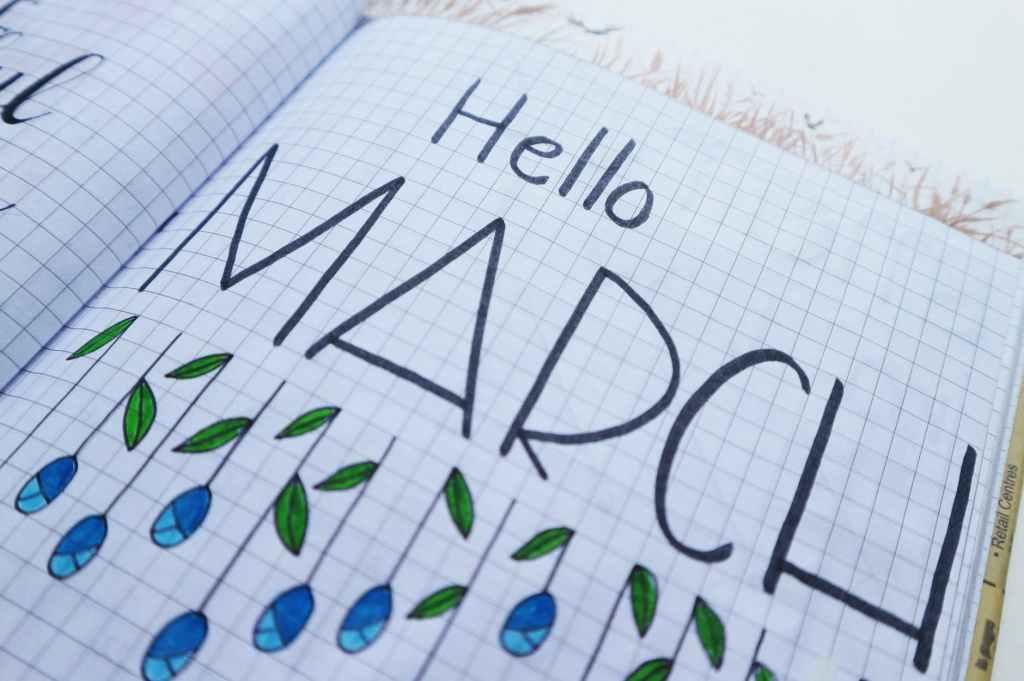 Hello, March.