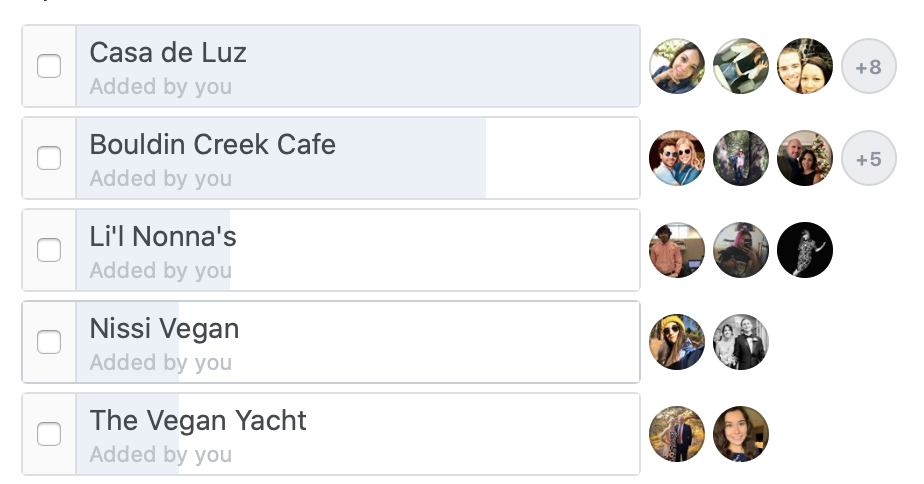Voted quickest service in order of fastest to slowest: Casa de Luz, Bouldin Creek Cafe, Li'l Nonna's, Nissi Vegan and The Vegan Yacht.